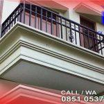 teralis balkon minimalis